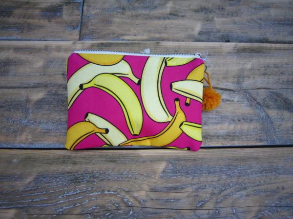 Bananen make-up tasje