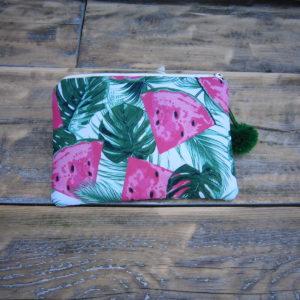 watermeloen make up/ toilettasje