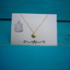 Lachende Zon Gold Plated Ketting