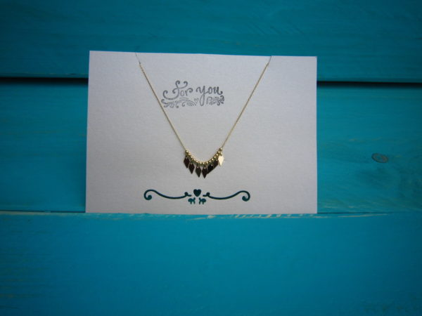 KETTING COOLNESS goud.