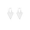 Earrings Gypsy V zilver