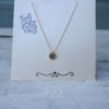 KETTING QUEEN COIN - Stainless steel Goud.