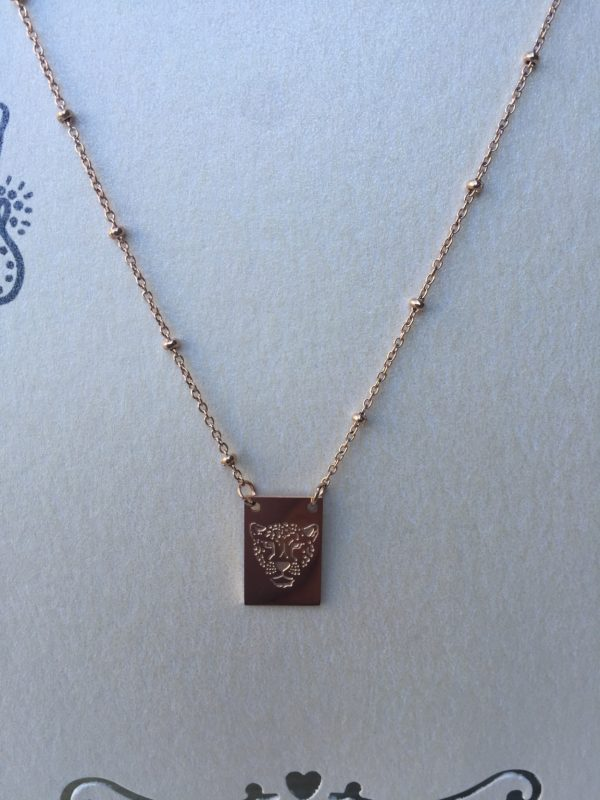 KETTING STAY WILD TIGER - stainless steel Rose