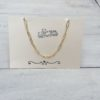 KETTING STUCK IN CHAINS- goud