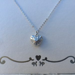 KETTING YOU HAVE MY HEART -SMALL- zilver