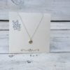 KETTING HOLY zilver-goud.