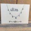 KETTING COUNTING STARS- zilver.