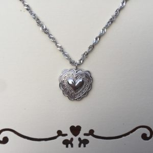 KETTING TRUE LOVE- zilver.