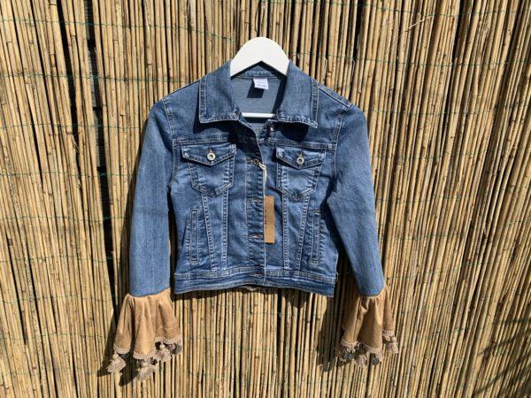 Bohemian jacket Droomvanger -handmade. maat XS