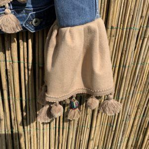 Bohemien jacket Buffalo hoofd-handmade. maat M