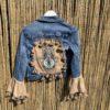 Bohemian jacket Fatima-hand -handmade. maat S