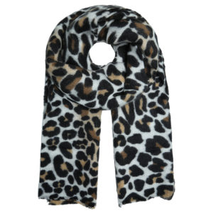 SJAAL NUMBER ONE- Panter print sjaal.