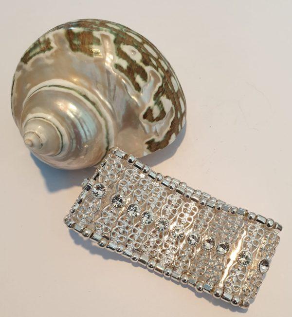 Vintage armband- zilver.