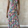 Strand Maxi soepel jurk.