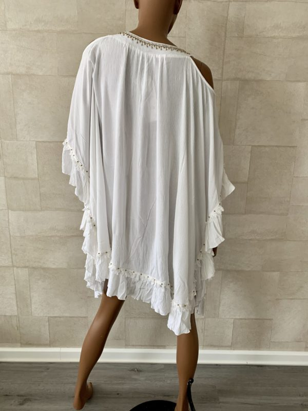 Witte NJ Couture top - one size.