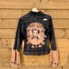 Bohemian jacket Frida Kahlo Handmade.