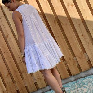 Mochy Ibiza jurkje / tuniek - White