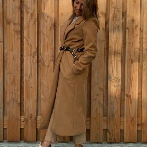 Chloé nette lange jas Crème kleur - one size.Chloé nette lange jas Crème kleur - one size.