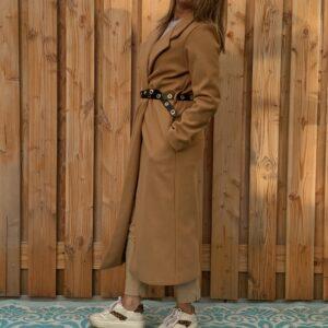 Chloé nette lange jas Crème kleur - one size.