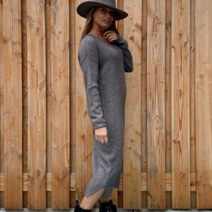 Dames Hoed -licht grijs kleur -one size.