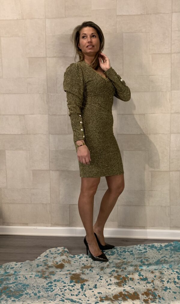 Glitter chic jurk - one size.