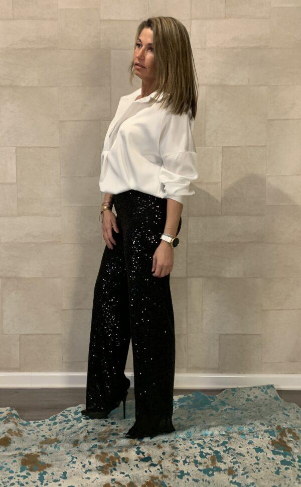 Tess Witte kleur blouse - one size.