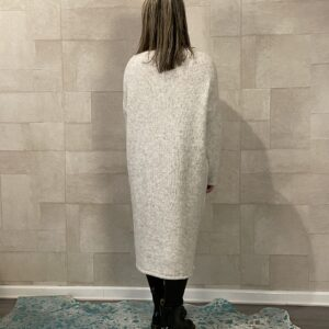 Isabelle half open trui - Off White - One size.