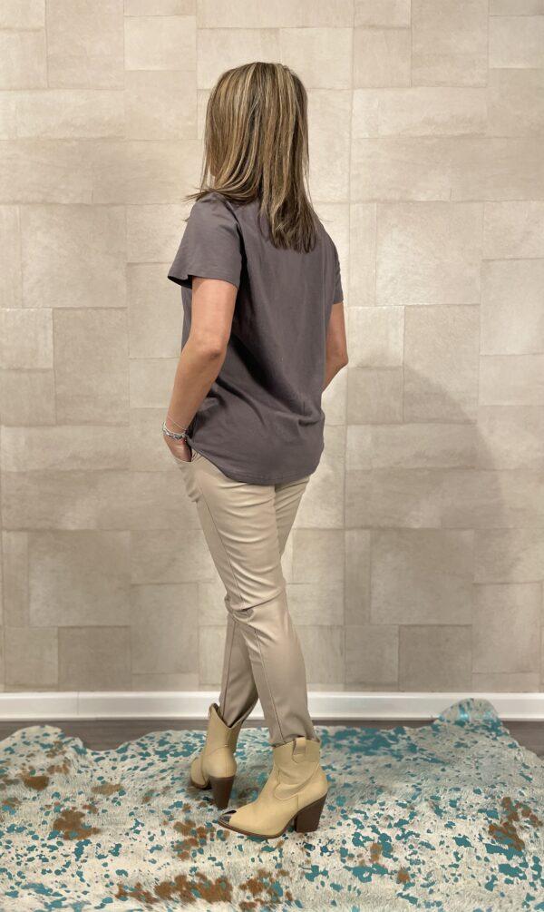 Tshirt Vintage - Grijs kleur.