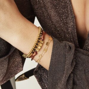Armband Love- Stainless steel - Zilver.