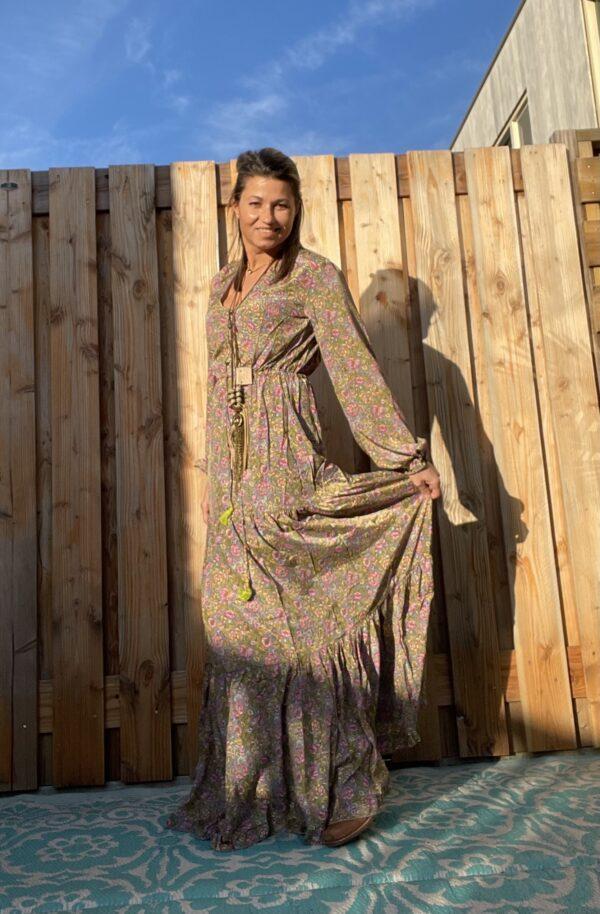 Judith Maxi jurk van Gold & Silver.
