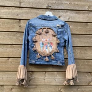 Bohemien Dromenvanger -handmade jacket.