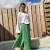 Celeste Rok van Ambika - one szie Groen kleur.