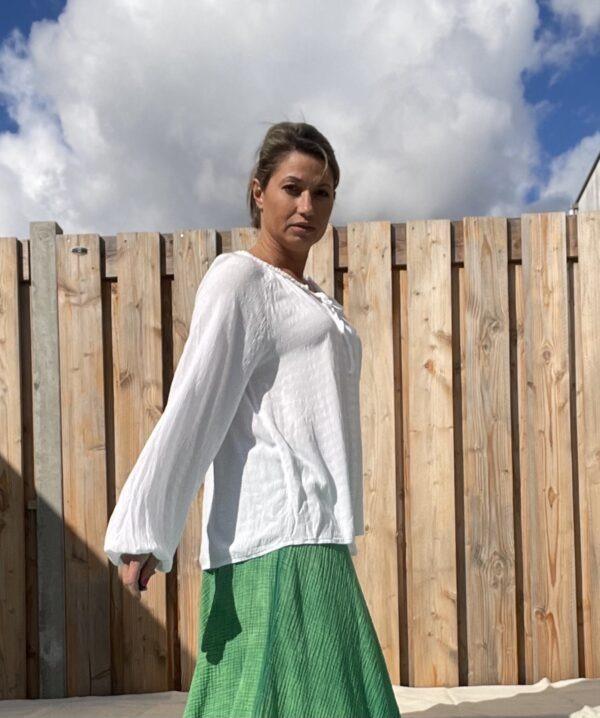 Gigi Top -one size- witte kleur.