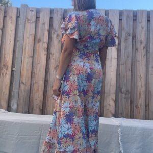Wikkel Purple Queen jurk.